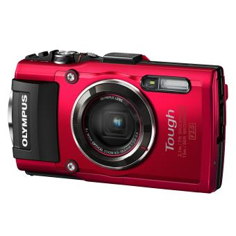 Appareil Photo Compact Olympus Stylus TG 4 Rouge Appareil photo
