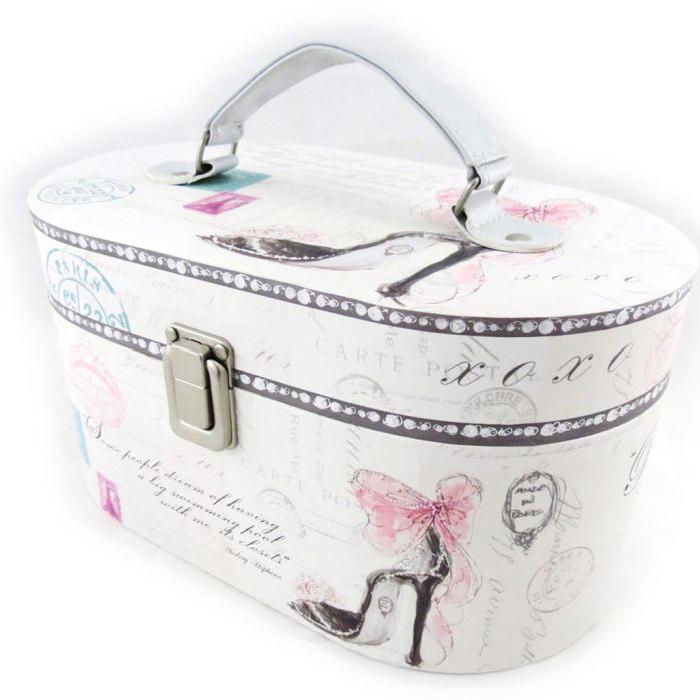Vanity Case Coffret «Belle Epoque» rose blanc Achat / Vente boite a