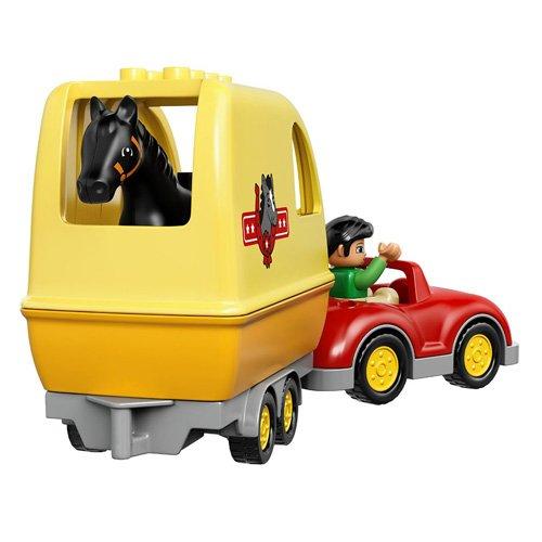 Lego Duplo Ville 10807 La Remorque À Chevaux LEGO
