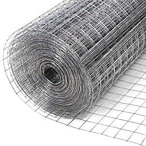 Grillage 10 x 1 m maillage : 25 x 25 mm pour intérieur et
