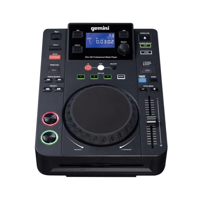 GEMINI CDJ 300 DJ Platine CD / USB platine cd, prix pas cher
