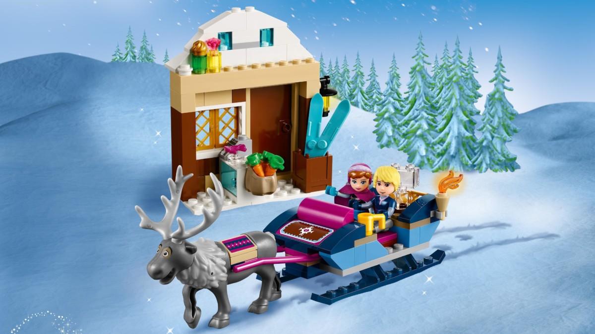 LEGO 41066 Le Traîneau d'Anna et Kristoff: Jeux et