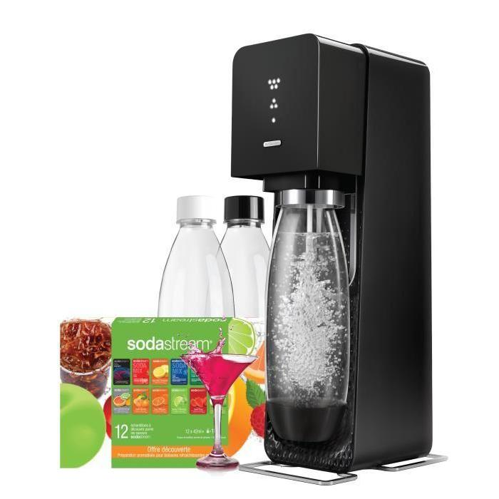 Sodastream Mega pack Source Noir Achat / Vente machine à soda