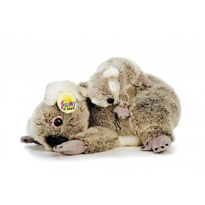 Adorable peluche koala avec son bébé ! Adorable koala avec son