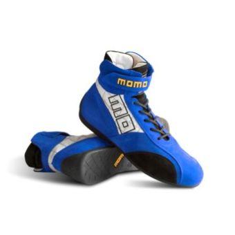 du pilote Bottines MOMO Boots Pro Racer Evo Bleues Taille 41 Fia