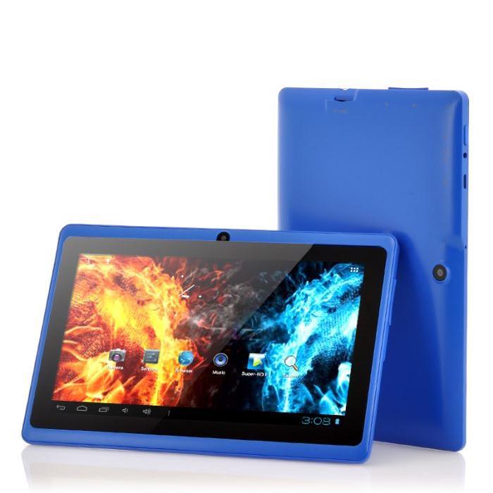 Tablette Bleu Android 4.0 7 Pouces 32 GB Prix pas cher
