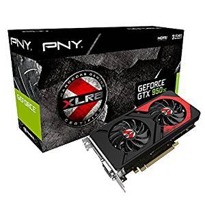 PNY KF950GTXXG2GEPB Carte graphique Nvidia GeForce GTX950 2GB XLR8 OC