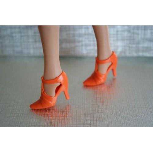 Orange Pour Barbie Ou Poupées Mannequins Neuf et d'occasion
