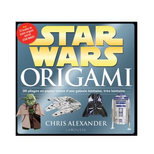 Livre Star Wars Origami pour enfant de 7 ans à 12 ans Oxybul éveil