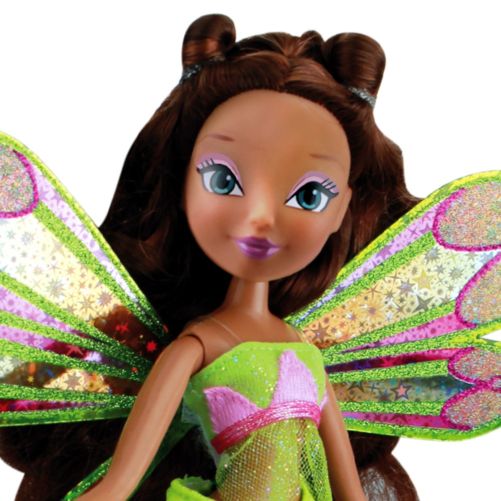 winx club enchantix fairy puppe fee layla aisha der winx club um die