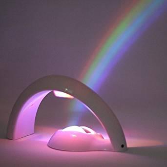 JACO ® Uncle Milton Arc en ciel LED enfant bébé Lampe Projecteur