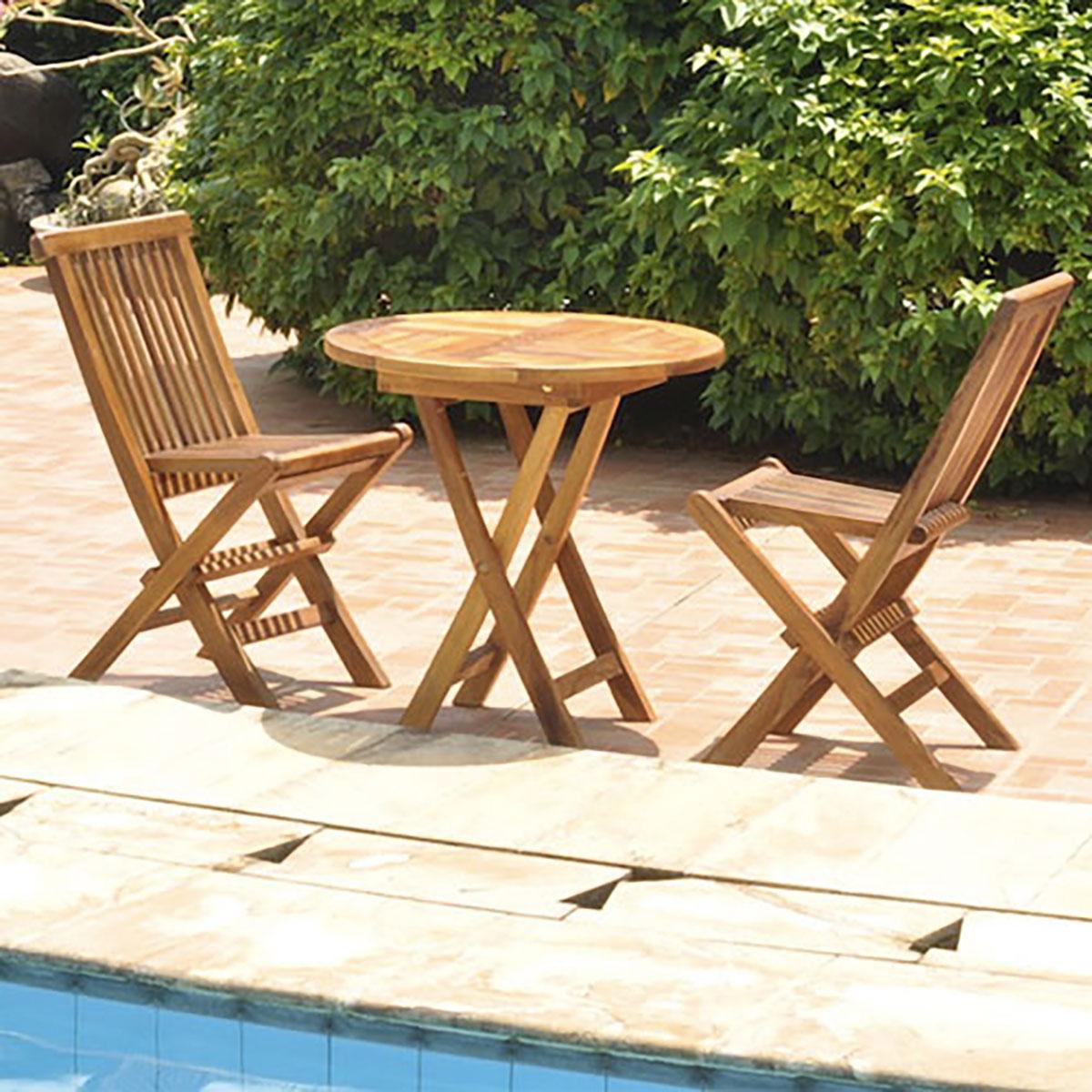 Chaises de jardin pliantes topiwall - Chaise pliante salon ...