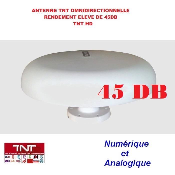 Antenne TNT 45DB camping car Omnidirectionnelle? antenne, prix pas
