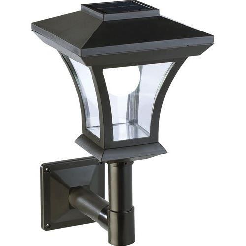 Lampadaire de jardin solaire à LED mural Achat / Vente Lampadaire