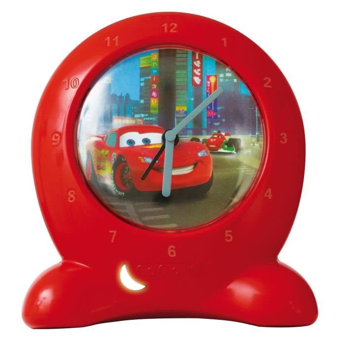 CARS Réveil d'apprentissage lumineux GoGlow Clock Achat / Vente