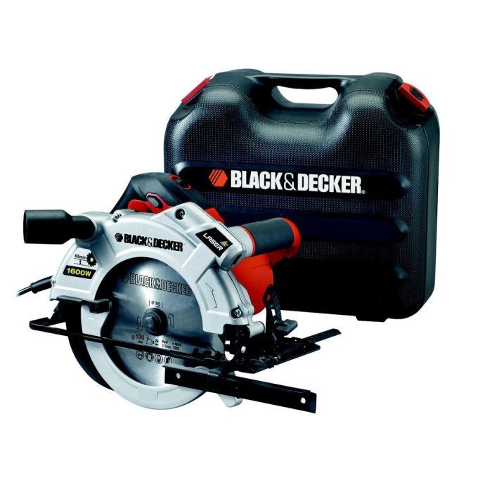 BLACK&DECKER Scie circulaire 1600W + lame + guide Achat / Vente scie