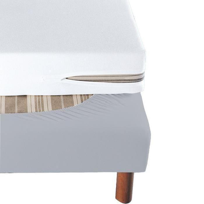 Cache Sommier Souris à Bande Enveloppante 140×190 Achat / Vente