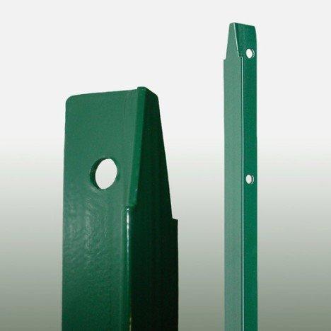 Piquet à sceller vert plastifié  