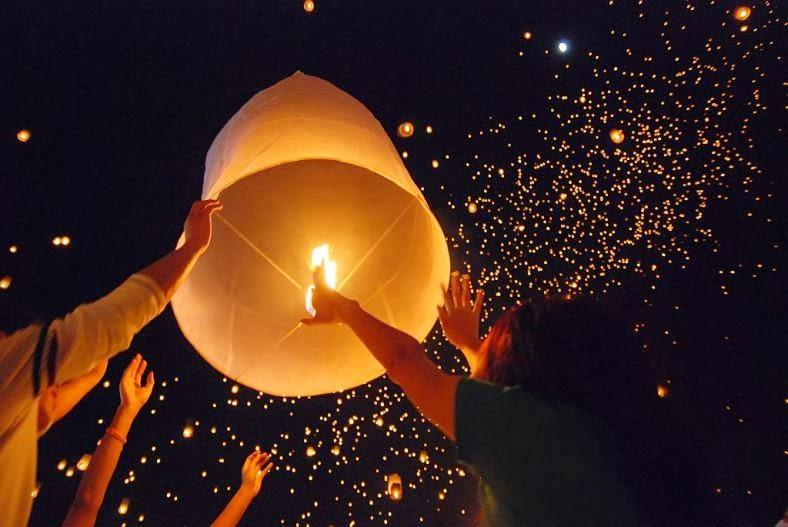 Nos lanternes volantes ne sont pas des chinois, sont les ballons