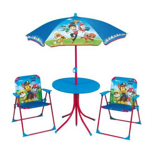 Pat Patrouille Table, chaises et parasol Pat' Patrouille pas cher