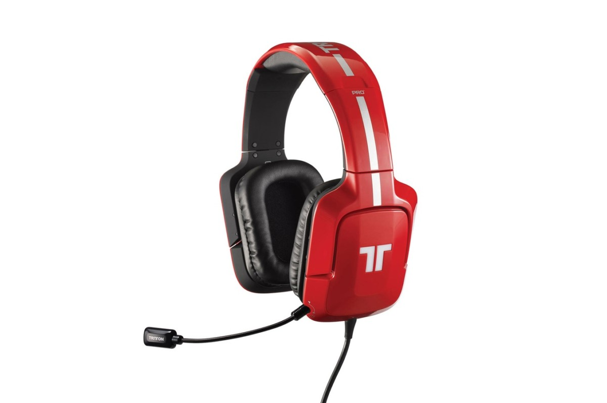 Casque micro / gamer Tritton Pro+ 5.1 Surround pour Xbox 360 / PS3