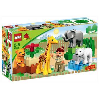 duplo lego duplo 4962 le zoo des bébés animaux lego lego 3 1 avis