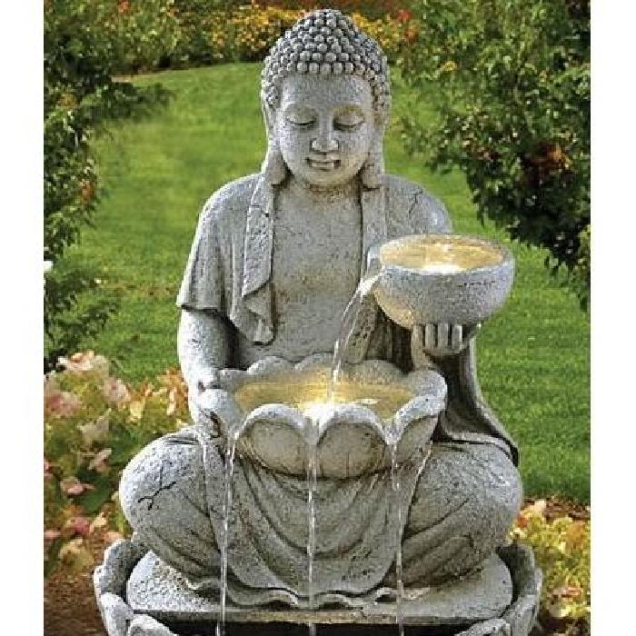 Fontaine bouddha offrande Achat / Vente fontaine de jardin Fontaine