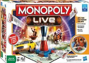 de société Monopoly Live avec Tour Electronique Parlante Hasbro