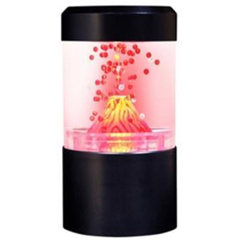 Lampe Objet Décoratif Volcan en éruption avec LED Achat & prix