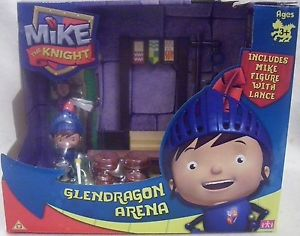 Mike le chevalier ~ Glendragon Arena Playset ~ Inc Mike