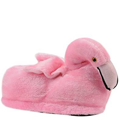Chaussons animaux flamant rose Enfant en bas âge Taille L