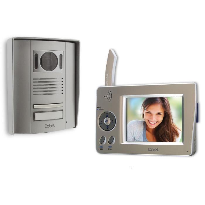 9cm WEVPSF 659.2 Achat / Vente interphone visiophone