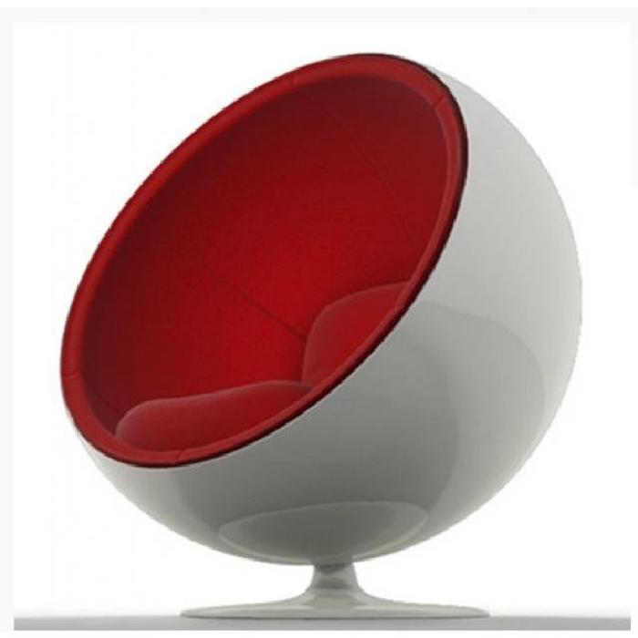 Fauteuil ENFANT BALL CHAIR BLANC/ROUGE Achat / Vente fauteuil