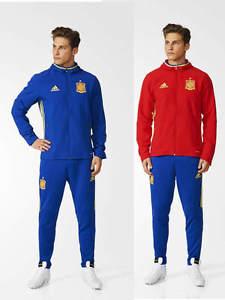 Espagne spain spanien Adidas Survetement Presentation Euro 2016 Homme