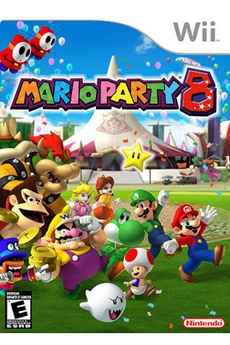 Jeux Wii MARIO PARTY 8 Nintendo
