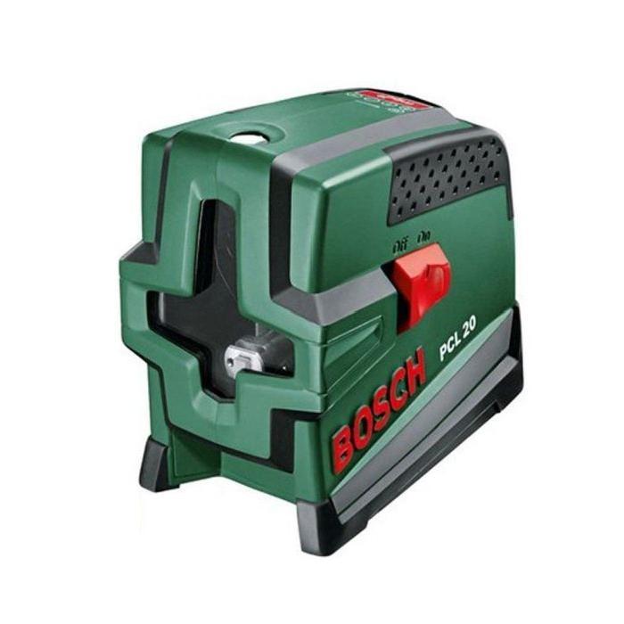 BOSCH Niveau laser lignes + trépied PCL 20 Jeu Achat / Vente