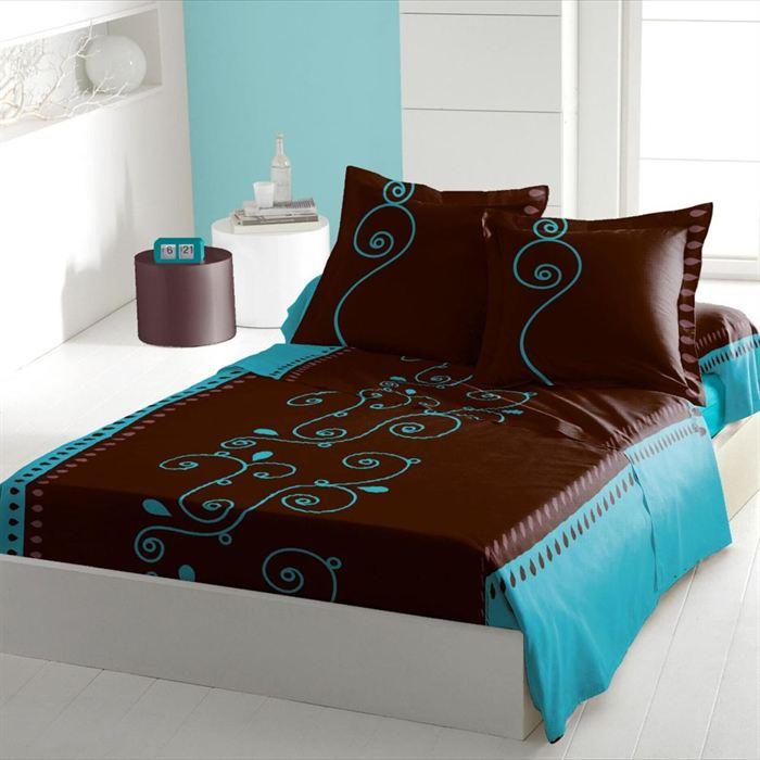 drap housse 140 190 topiwall. Black Bedroom Furniture Sets. Home Design Ideas