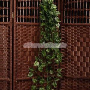 Plante Guirlande Vigne Accrochante Artificielle Feuille