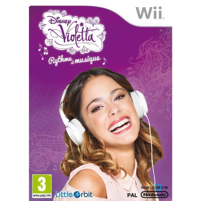 Violetta Jeu Wii Achat / Vente jeux wii Violetta Jeu Wii