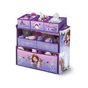 princesse Meuble coffre a jouet de rangement poupée enfant fille bacs
