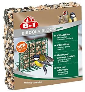 8in1 Birdola Block Menu Alimentation pour Oiseau Sauvage