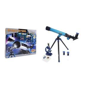 MICROSCOPE Kit Microscope + Telescope 19 Pièces 450x et 4