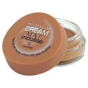 Gemey Maybelline Dream Mat Mousse Fond de Teint 60 Caramel