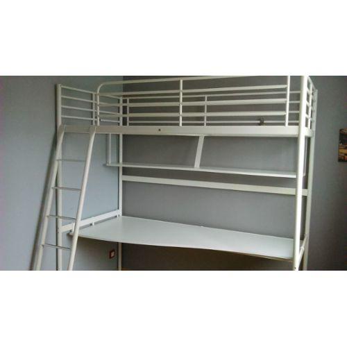 Lit Mezzanine Avec Bureau Ikea Achat et vente