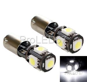 ampoules à LED Blanc Veilleuses / feux de position pour CITROËN C4