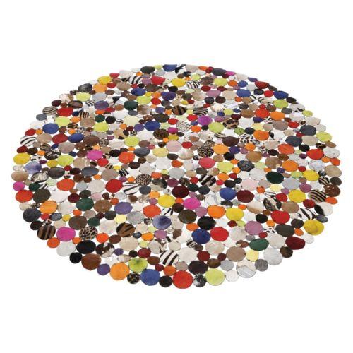 Kare Design Tapis Patchwork Circle Multi 150 cm Multicolore 1 cm x