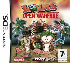Worms open warfare DS DSi XL Lite 2DS 3DS Parfait état