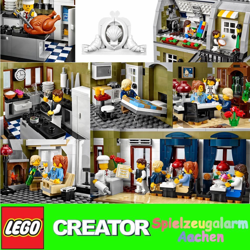 LEGO 10243 CREATOR Pariser Parisian Restaurant Restaurante Parisino