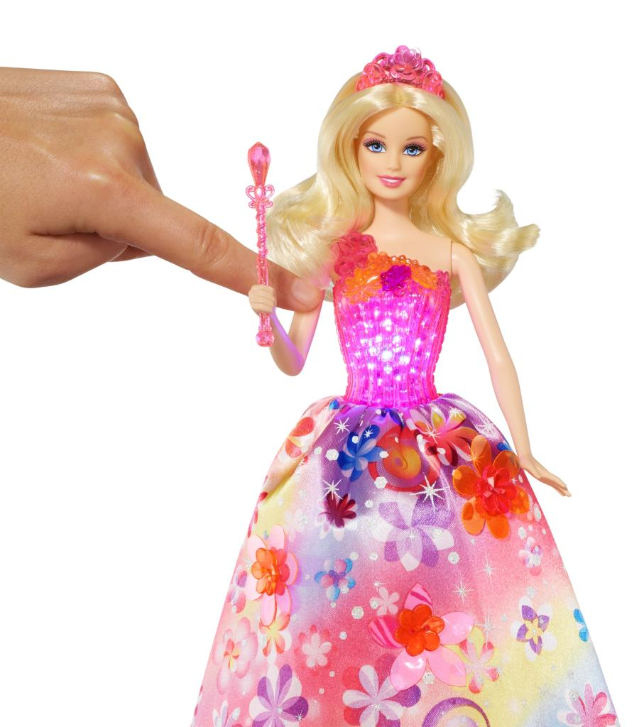 Singing Barbie The Secret Door Alexa Doll Magic Wand Creative Princess