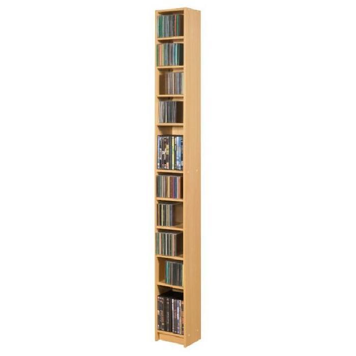 RANGE CD DVD 10 NICHES «INITIAL» Achat / Vente meuble range cd RANGE